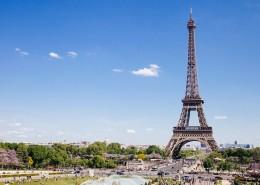 法国巴黎埃菲尔铁塔建筑风景图片(14张)