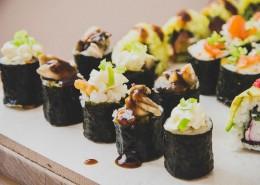 晶莹软润的寿司图片(14张)