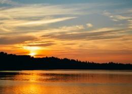 景色秀美的夕阳图片(11张)