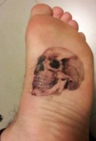 脚部纹身 10款个性化十足的脚背纹身图案