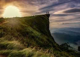 陡峭的悬崖图片(10张)