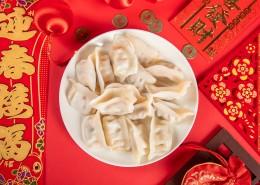 好吃的煮熟的饺子图片(11张)