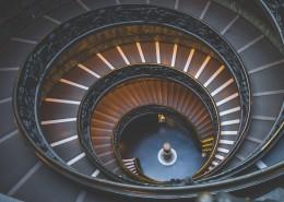 设计独特的旋转楼梯图片(13张)
