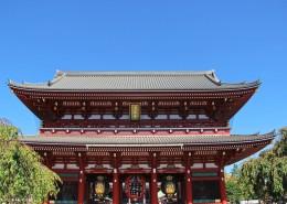 日本东京浅草寺风景图片(9张)