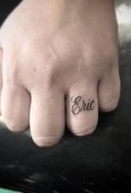 个性纹身小图案 黑灰纹身小清新个性纹身小图案
