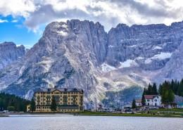意大利多洛米蒂国家公园自然风景图片(9张)