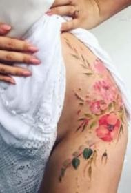 性感女生纹身 8张漂亮的女孩子专属性感纹身图案
