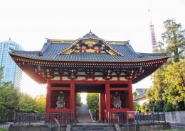 日本东京建筑风景图片(10张)