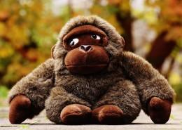 大猩猩毛绒玩具图片(14张)
