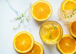 营养的橙汁图片(12张)