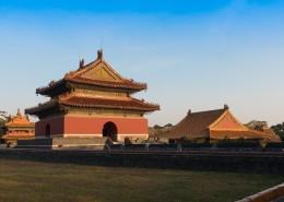 辽宁沈阳清昭陵建筑风景图片(9张)