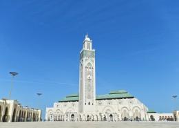 摩洛哥卡萨布兰卡的哈桑二世清真寺建筑风景图片(8张)