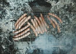 正在烤制的香肠图片(11张)