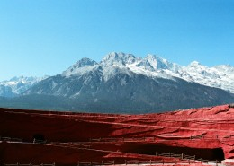 云南玉龙雪山自然风景图片(9张)