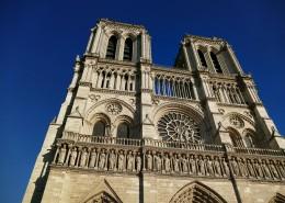 法国巴黎圣母院大教堂图片(13张)