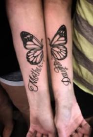 恋人纹身 18组适合情侣的成对纹身图案