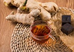 暖胃的红糖姜茶图片(8张)