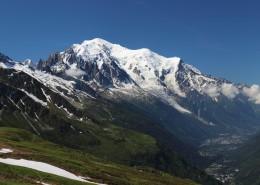 巍峨雄壮的阿尔卑斯雪山图片(15张)