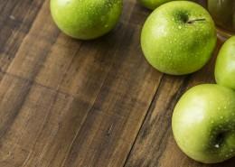 酸甜可口的红苹果和青苹果图片(9张)