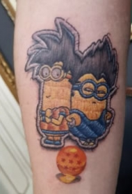刺绣纹身 15张刺绣风格的的卡通纹身图片