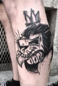 暗黑色的17张创意纹身图片欣赏