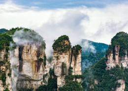 湖南张家界唯美自然风景图片(10张)