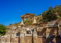 土耳其塞尔丘克以弗所古城自然风景图片(10张)