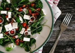 碗里的蔬菜沙拉图片(10张)