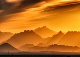 唯美幽境的黄昏自然风景图片(16张)