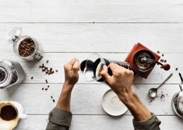手冲咖啡的图片(12张)