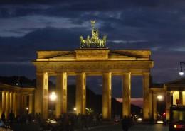 夜晚的柏林勃兰登堡门建筑图片(11张)