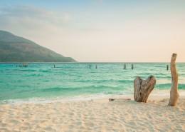 美丽的泰国海滩自然风景
