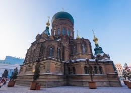 哈尔滨圣索菲亚教堂建筑风景图片(10张)
