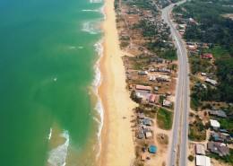 海岸线的鸟瞰图片(16张)