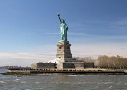 美国纽约自由女神像图片