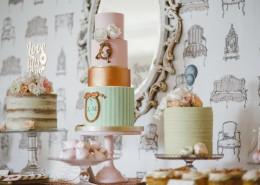 婚礼上的蛋糕图片(10张)