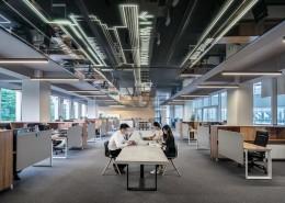 宽敞的办公室图片(10张)