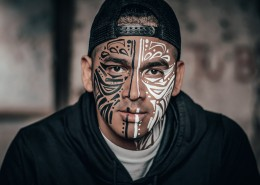 人脸上的彩绘图片(16张)