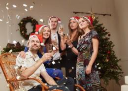 圣诞节家庭派对图片(10