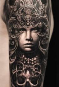 欧美花臂纹身 13款欧美创意写实的手臂花臂纹身图案