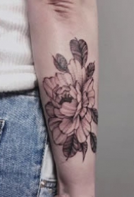 六款很文艺的女生手臂纹身图案欣赏