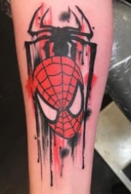 蜘蛛侠纹身 9张漫威系列的创意蜘蛛侠纹身图案