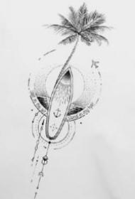 纹身小臂图 15款小清新的小臂几何纹身作品和手稿