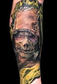 一组酷酷的写实手臂纹身