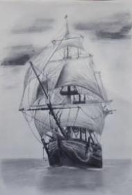 帆船纹身 10款好看的帆