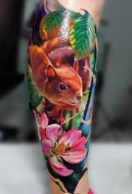 九款欧美彩色纹身图案欣赏