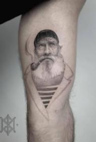 九款暗黑点刺帅气的纹身图案欣赏