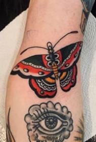 一组美美的彩绘欧美手臂纹身图案
