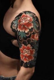 女性花臂纹身 帅气的9款女性大花臂纹身作品欣赏