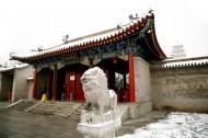 陕西西安雪景图片(10张)
